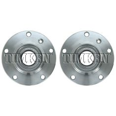 1995-01 BMW 740i, 740iL 750iL Front Wheel Hub & Bearing PAIR (Timken)