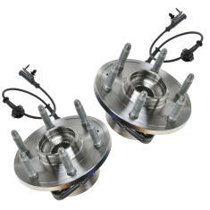 07-10 GM Full Size SUV & Truck 1500 4WD Front Wheel Bearing & Hub PAIR (TIMKEN)