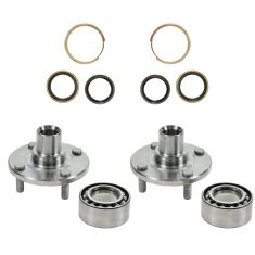 85-89 Toyota MR2 Rear Wheel Bearing & Hub Kit PAIR (Timken)
