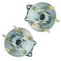 07-11 Mazda CX-7 w/4WD Rear Wheel Bearing & Hub PAIR (Timken)
