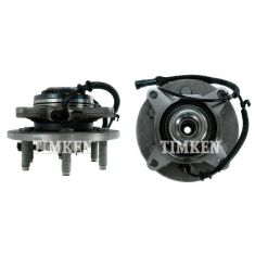 (11/29/04)-08 Ford F150; 06-08 Lincoln LT (6 Lug) Front Wheel Bearing & Hub PAIR (Timken)