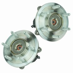 03-06 Ford Expedition, Lincoln Navigator 4WD Front Wheel Bearing & Hub PAIR (Timken)