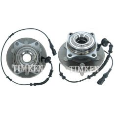 03-06 Ford Expedition, Lincoln Navigator Rear Wheel Bearing & Hub PAIR (Timken)