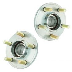 05-10 300; 08-11 Challenger; 06-11 Charger; 05-08 Magnum 2WD Front Wheel Bearing & Hub PAIR (Timken)