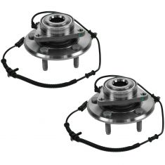 09-10 Dodge Ram 1500 (2WD or 4WD) Front Wheel Bearing & Hub Assy PAIR (Timken)