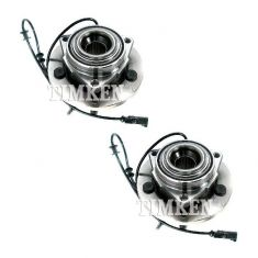 06-09 Dodge Durango; 07-09 Chrysler Aspen Front Wheel Bearing & Hub Assy PAIR (Timken)
