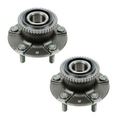 98-02 Mazda 626 (w/ABS) Rear Wheel Bearing & Hub Assy PAIR (Timken)