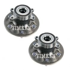 09-12 Chevy Colorado, GMC Canyon (w/4WD) Front Wheel Bearing & Hub Assy PAIR (Timken)