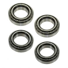 Chevy, Dodge, Ford, GMC, Jeep Front & Rear Bearing & Race (Set of 4) (Timken)