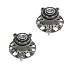 09-12 Aura TSX; 08-12 Honda Accord Rear Wheel Bearing & Hub Assy Pair (Timken)