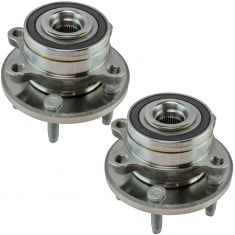 11-16 Ford Explorer; 13-16 Explorer Police Interceptor Rear Wheel Hub Pair (Timken)