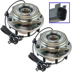 11-16 Ford F-350 Super Duty Front Wheel Hub Pair (Timken)
