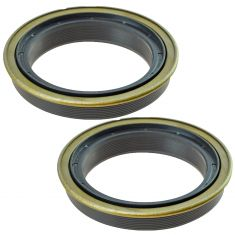 99-12 F250 F350 Rear Wheel Axle Bearing Seal Pair