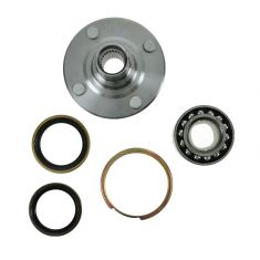 85-89 Toyota MR2 Rear Wheel Bearing & Hub Kit LR = RR (Timken)