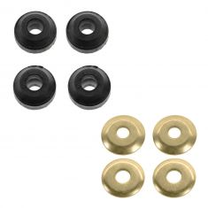 86-04 Chrysler Mid Sze; 86-95 Ford, Mercury; 88-94 Lincoln w/FWD Front Strut Rod Bushing Kit LF = RF