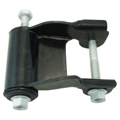 85-05 Chevy Astro, GMC Safari Van Rear Leaf Spring Rearward Shackle & Bracket Kit LR = RR