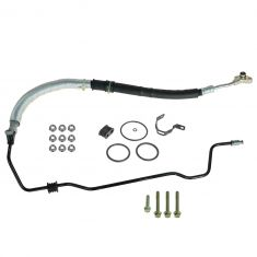 03-07 Honda Accord w/3.0L High Pressure Power Steering Feed Hose Kit (HONDA)