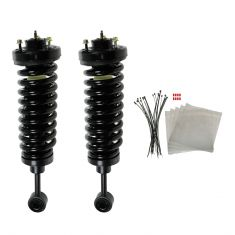 03-06 Ford Expedition, Lincoln Navigator Front Air Bag to Coil Spring Suspension Conversion Kit