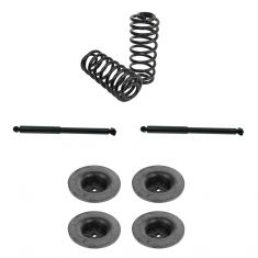 02-09 Buick, Chevy, GMC, Olds, Saab SUV Multifit Rear Air to Coil Suspension Kit