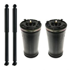 02-09 GM Mid Size SUV Gen II Rear Air Spring & Shock Kit (Set of 4)