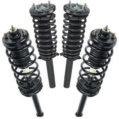 98-02 Honda Accord Front & Rear Strut Assemblies (Set of 4)