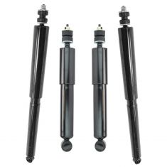 97-03 Ford F150; 94 F150 Heritage (exc 7700lb GVW) w/2wd Front and Rear Shock Absorber Set of 4