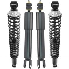 00-06 Suburban, Tahoe, Yukon, Yukon XL Front and Rear Air Ride Shock Conversion Kit