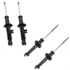 90-96 Nissan 300ZX (exc Adj Susp) Front & Rear Shock Absorber Kit (Set of 4)