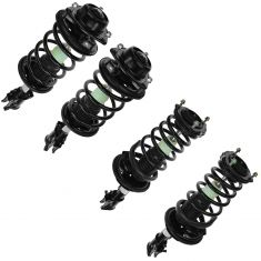 00-05 Hyundai Accent Front & Rear Quick Strut & Spring Assembly (Set of 4)