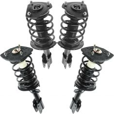 04-08 Pontiac Grand Prix (exc 18 Inch Wheels) Front & Rear Strut & Spring SET of 4