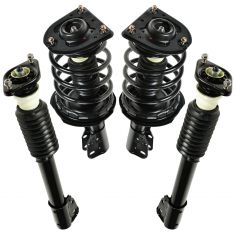 91-96 GM Sedan Front & Rear Loaded Strut Kit (Set of 4)