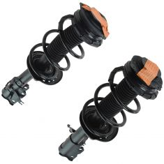 08-12 (to 11/09) Nissan Rogue Front Strut & Spring Assembly PAIR