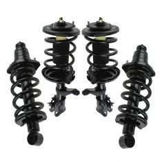03-11 Honda Element Front & Rear Strut and Spring Assembly Kit (Set of 4)