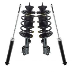 2004-2011 Chevy Aveo, 06-11 Aveo5; 09-10 Pontiac G3 Front Strut Assembly & Rear Shock Set (Kit of 4)