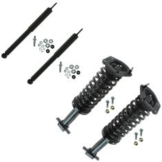 93-02 Chevy Camaro, Pontiac Firebird Front Strut Assembly & Rear Shock Absorber Kit (Set of 4)