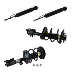 04-09 Nissan Quest Front Strut Spring Assembly & Rear Shock Absorber Kit (Set of 4)