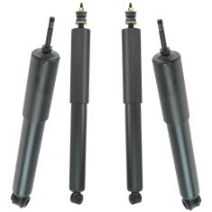 08-14 Ford E-150; 92-14 E250, E350; 96-14 E450 Front & Rear Shock Absorder Set of 4