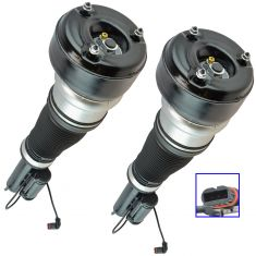 07-13 MB S-Class; (w/o 4Matic Susp) Complete Front Air Strut Pair