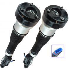 07-13 MB S-Class; 09-13 CL550 (w/o ABC Susp) Complete Rear Air Strut Pair