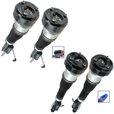 07-13 MB S-Class; (w/o 4Matic Susp) Complete Front & Rear Air Strut Kit