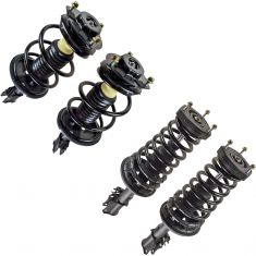 02-03 Toyota Camry 2.4L Front & Rear Strut & Spring Assy (Set of 4) (Rear 8 Loop Update)