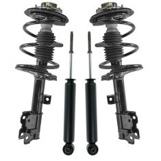 03-07 Nissan Murano Front Loaded Struts & Rear Shocks Kit (Set of 4)