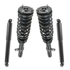 03-08 Mazda 6 Front Strut & Spring Assemblies Rear Shock Absorber Kit (Set of 4)