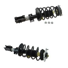 01-02 Volvo V70 AWD; 03-07 XC70 Front Strut & Spring Assembly Pair