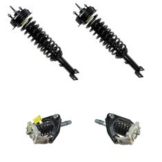 01-06 Chrysler Sebring, Dodge Stratus Sedan Front (w arms) & Rear Strut & Spring Assy Kit (Set of 4)