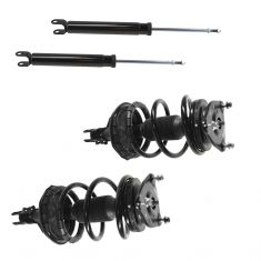 07-10 Hyundai Elantra Front Strut & Spring Assembly Rear Shock Absorber Kit (Set of 4)