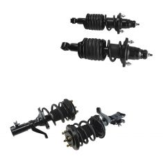 02-05 Acura RSX Front & Rear Sport Suspension 1 1/2 Inch Lowering Strut Kit (Set of 4)
