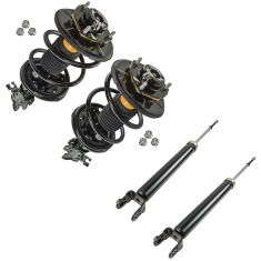 02-06 Nissan Altima 2.5L Front & Rear Strut & Spring/Shock Absorber Kit (Set of 4)