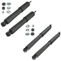 04-12 Colorado, Canyon; 06 Isuzu i-350; 07-08 i-370 w/ Torsion Bar Front & Rear Shock Kit 4pc