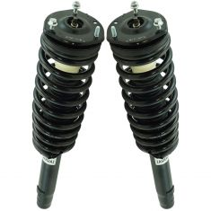 10-12 Ford Fusion; 10-11 Milan w/2.5L Front Shock & Spring Assembly Pair
